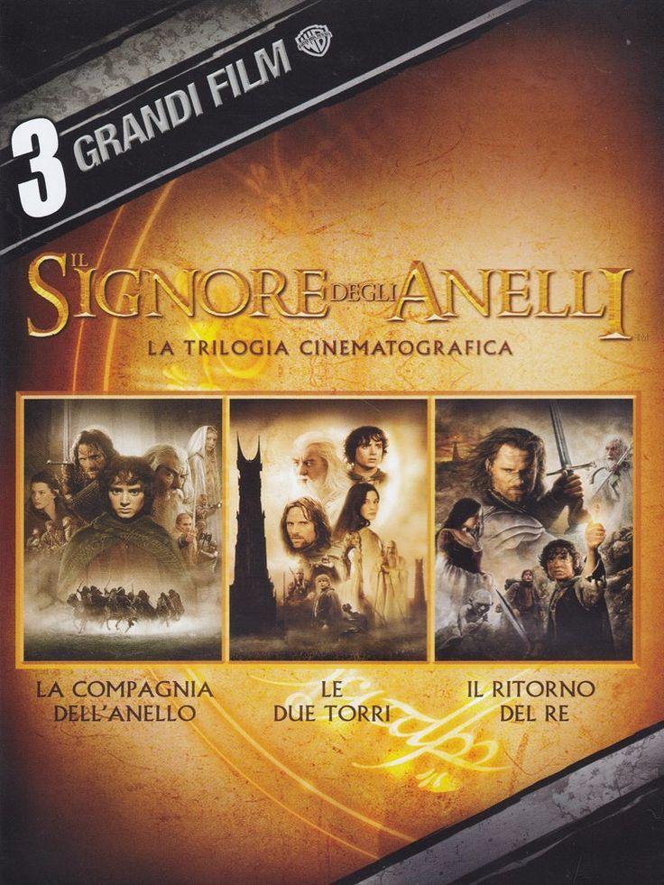 3 grandi film - Il Signore degli Anelli - La trilogia cinematografica: Amazon.it: varie: Film e TV