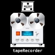 """""""tapeRecorder"""" turns your device into an """"OLD STYLE"""" tape recorder / music player."""
