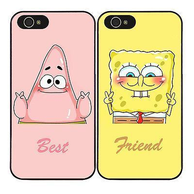 SpongeBob Partrick Best Friend Phone Case Cover for iPhone 8 7 6s 6 Plus 5S 5C X in Cell Phones & Accessories, Cell Phone Accessories, Cases, Covers & Skins   eBay #Iphone4s #iphone5s