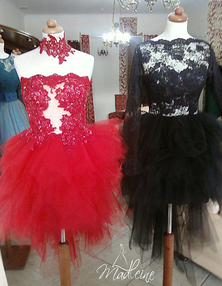 Czerwona czy czarna sukienka koktajlowa na Sylwestra lub Bal Maturalny - Studniówkę?