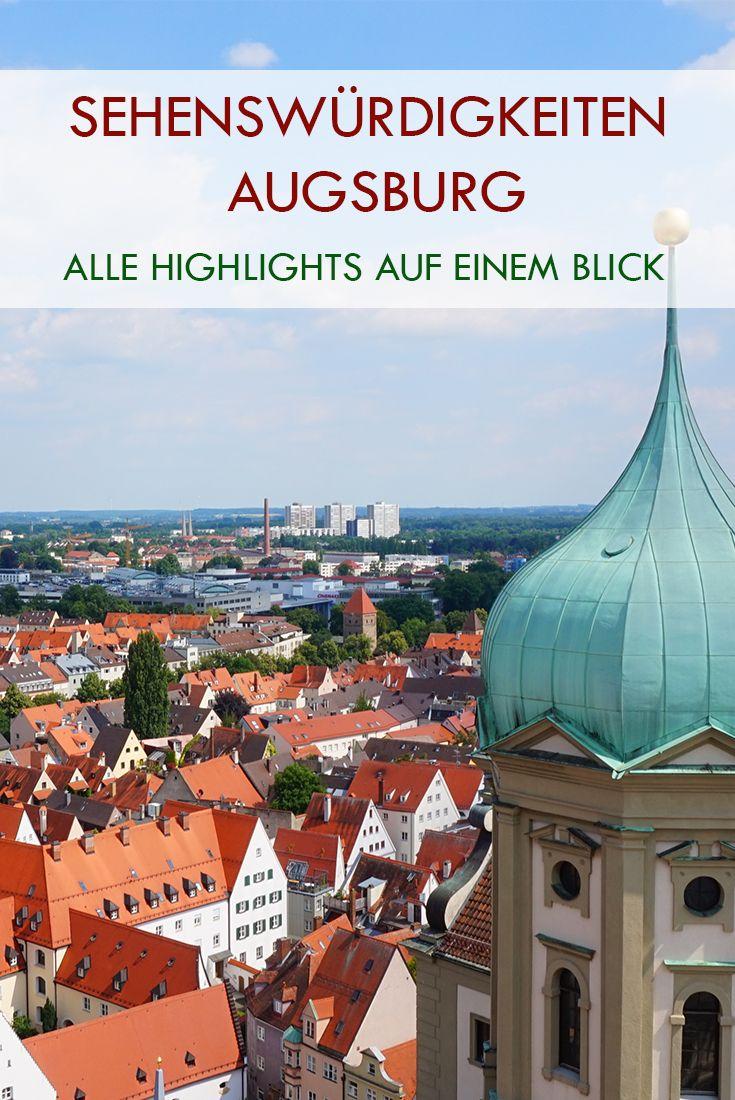 Entdecke die Highlights der Augsburger Altstadt.