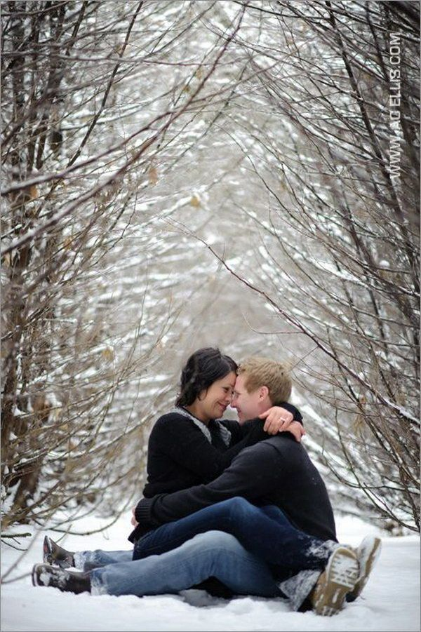 Unique Winter Engagement Photos Best 25+ Winter...