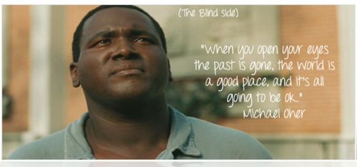 The Blind Side - True story of Michael Jerome Oher (born May 28, 1986) is an American football offensive tackle for the Baltimore Ravens of the National Football League (NFL). He was homeless, and this the story that changed lives.