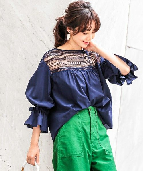 【ZOZOTOWN|送料無料】GALLARDAGALANTE(ガリャルダガランテ)のシャツ/ブラウス「フロントレースブラウス【オンラインストア限定商品】」(GN17F0044210100)を購入できます。