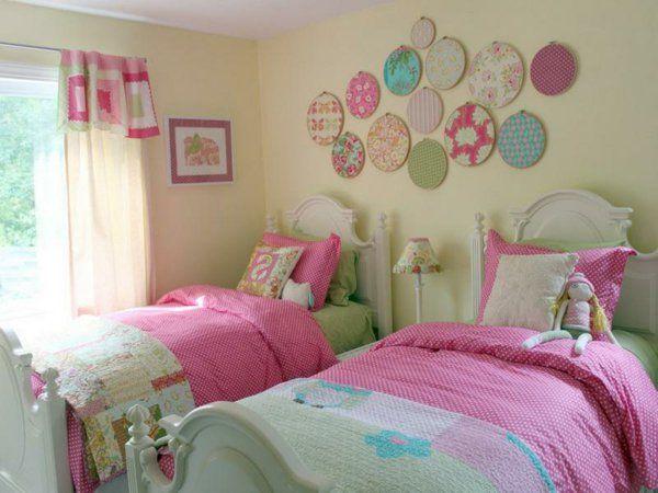 deco chambre enfant deux lits