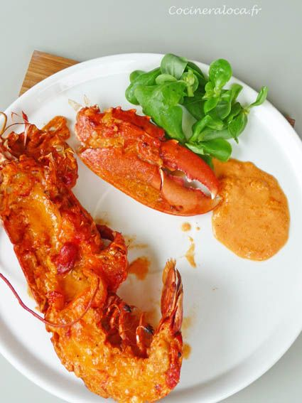homard grillé à la façon d'Olivier Roellinger 2 ©cocineraloca.fr