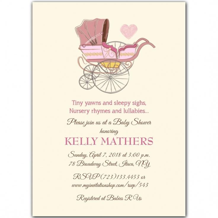 20 best Themed Baby Shower invites images on Pinterest | Invites ...