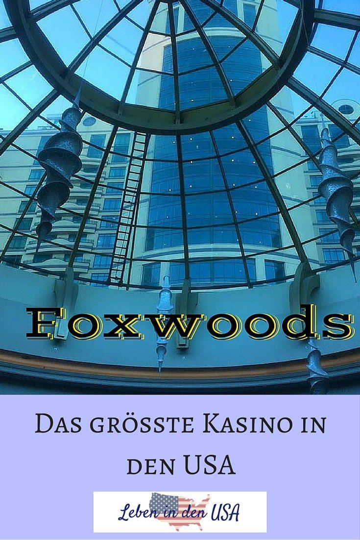 Foxwoods ist das grösste Kasino in den USA - Wenn du in New England bist, solltest du dieses Kasino besuchen. http://lebenindenusa.com/blog/2016/06/12/foxwood-groesste-kasino-usa/ Ich war schon öfter dort und habe einen ausführlichen Erfahrungsbericht + einige Tipps für euch geschrieben