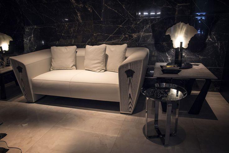 Modern Sofas in Black, White and a Blend of the Two! www.bocadolobo.com #bocadolobo #luxuryfurniture #interiodesign #designideas
