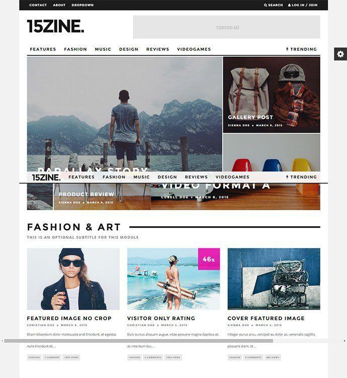 Wordpress Gazete Haber Teması