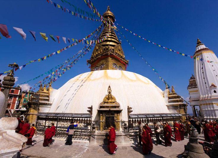 O Nepal no centro da Ásia é a terra dos trekkers e montanhistas, ávidos por subir até o campo-base do Monte Everest