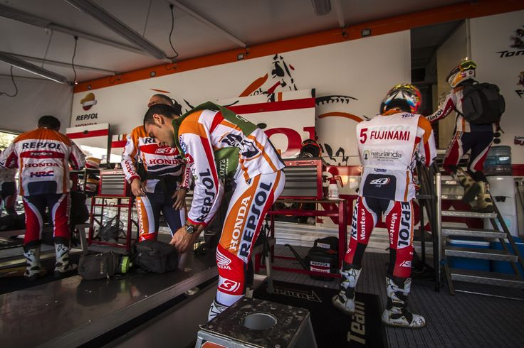 Repsol Honda Team Ambiance