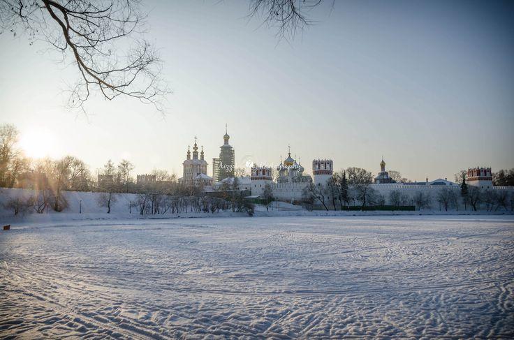 https://flic.kr/p/C6xcJW | Новодевичий монастырь на зиму