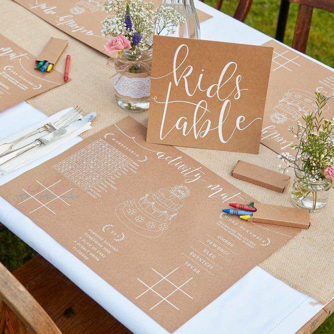 Kinderleicht und kreativ: So dekorieren Sie die Kinder-Ecke bei der Hochzeit!