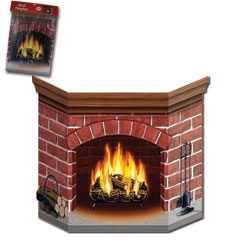 118 best Fireplace art images on Pinterest | Cardboard fireplace ...