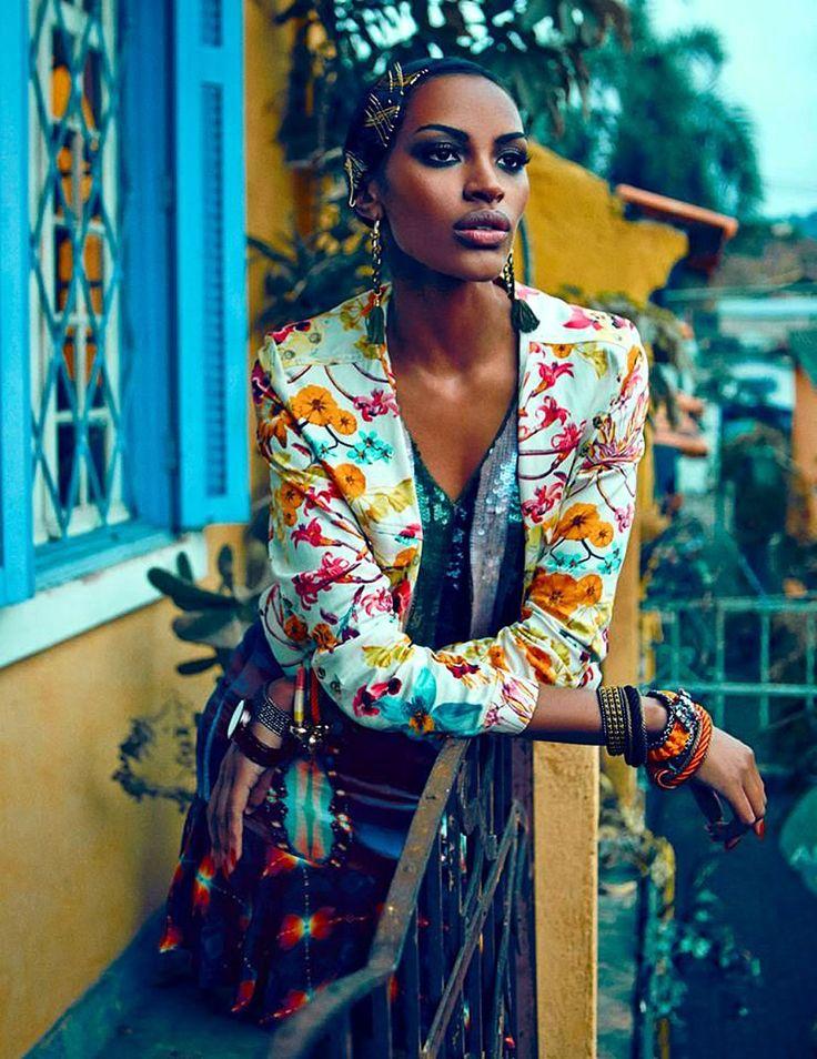 "Ana Bela Santos by Fabio Bartelt (""Estação Caliente"") - (August 2013) - August 2013 - Fashion Editorials - All about fashion"