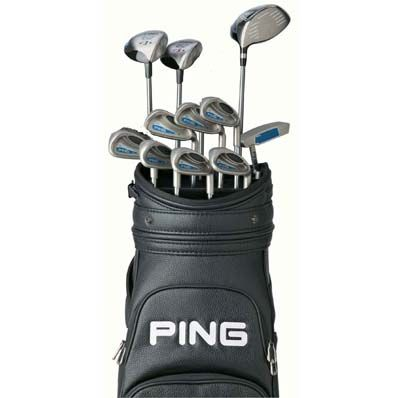 Womens Golf Club Set - Ping Golf Set - Looking for clubs like these!!!! I could play golf with my husband if I had these.