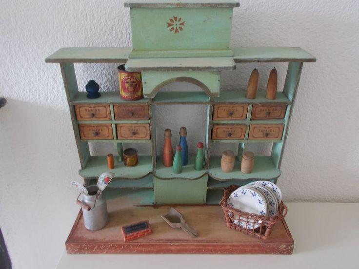 203 best images about epicerie ancienne on pinterest shops miniature and a - Epicerie ancienne jouet ...