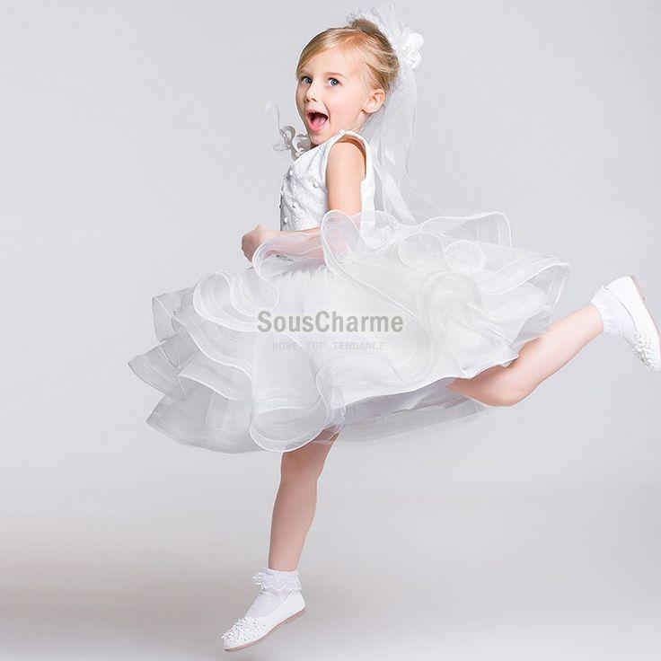Panier A Fleur Mariage Pas Cher : Meilleures images ? propos de robe mariage enfant sur