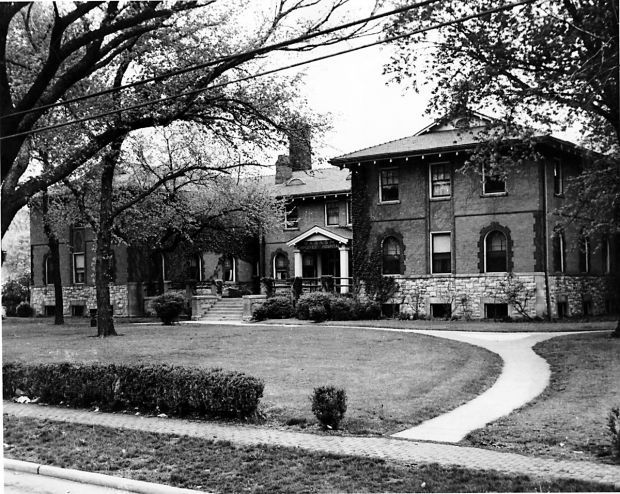 Wabash Employees Hospital      1954: This is the Wabash Employees Hospital which opened in 1903. An addition doubling its size was opened in 1925. (H file photo)