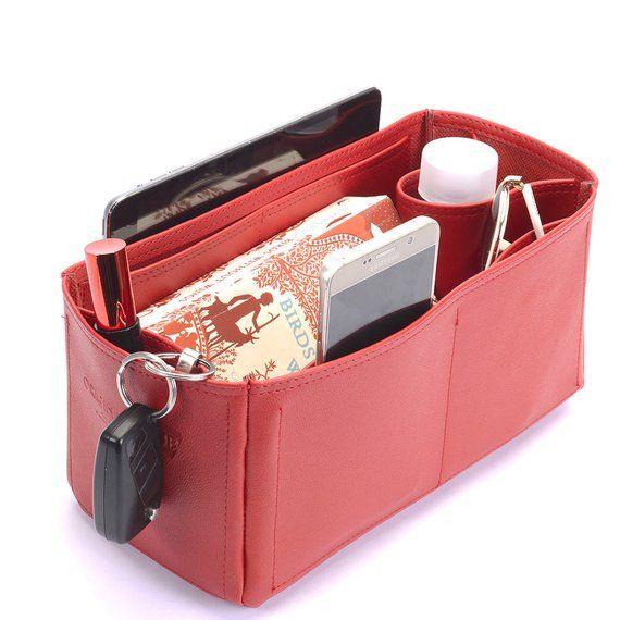 62c0f504483f Graceful PM Deluxe Leather Handbag Organizer
