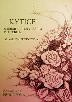 Kytice K.J.Erben titulní strana k ilustracím ke sbírce básní Kytice.