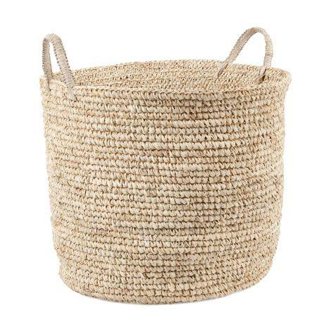 Round Basket With Handles Zara Home 214 Sterreich Mand