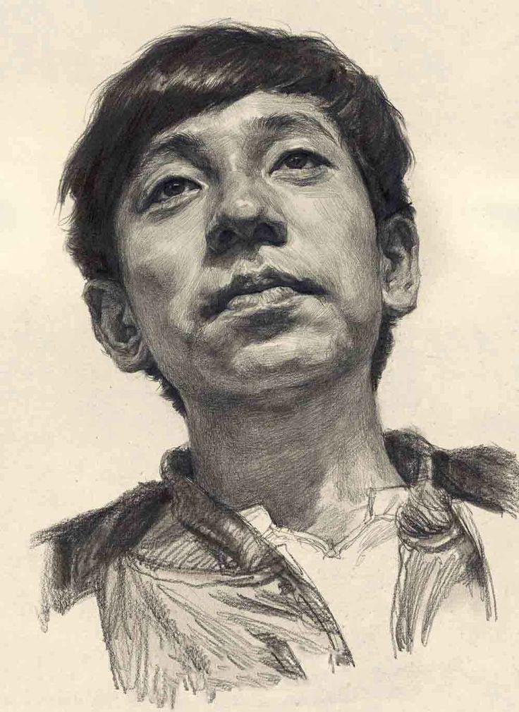 Portrait Drawings - How To Draw portrait https://www.youtube.com/watch?v=OBdCVer0yTI