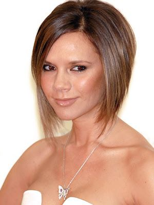 """Hair Obsessed: Best Haircut of 2007 - Victoria """"Posh"""" Beckham's bob (photo front back side and profile pics)"""