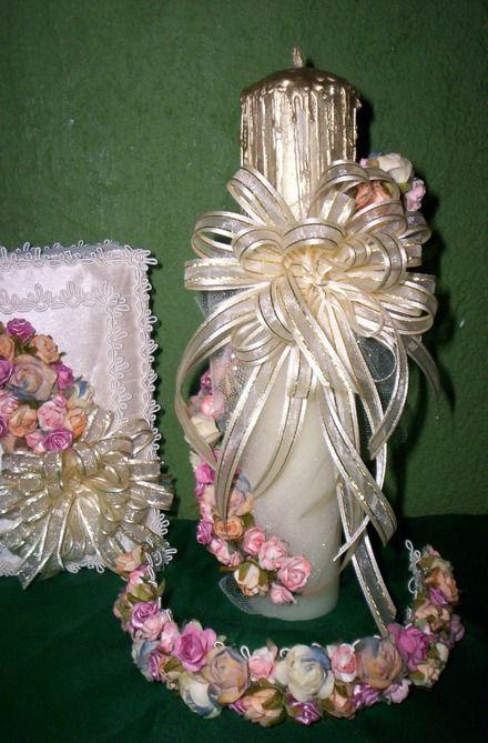 Best 20 velas para primera comunion ideas on pinterest velas para bautizo velas de - Como hacer centros de mesa para comunion ...