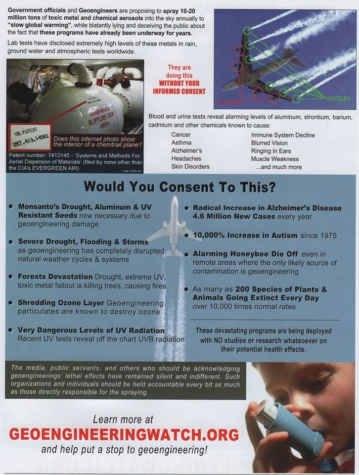 ❥ What you need to know about chemtrails