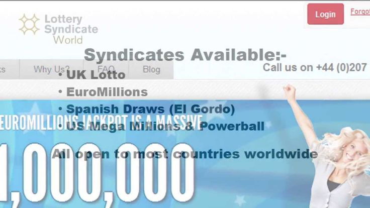 Here is a quick online video critique of the Big Fat Lottos  syndicate for the  EuroMillions . The video addresses the differing choices available, and the positives and negatives.