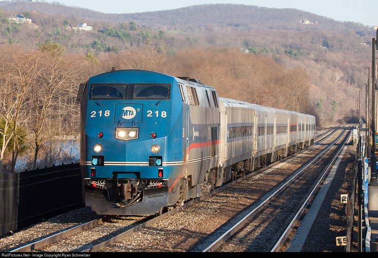 RailPictures.Net Photo: MNCR 218 Metro-North Railroad GE P32AC-DM at Cold Sping, New York by Ryan Schmelzer