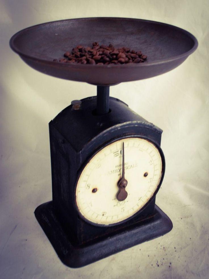 Antique SALTER HUGHES FAMILY SCALE Weighing Balance Kitchen Scale Kuchenwaage #Salter