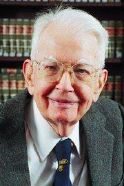 Ronald Coase.  Father of the Coase Theorem.