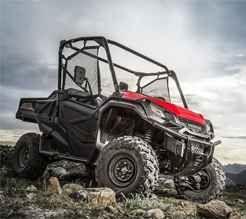 """New 2016 Honda Pioneerâ""""¢ 1000-5 Deluxe ATVs For Sale in Wisconsin."""