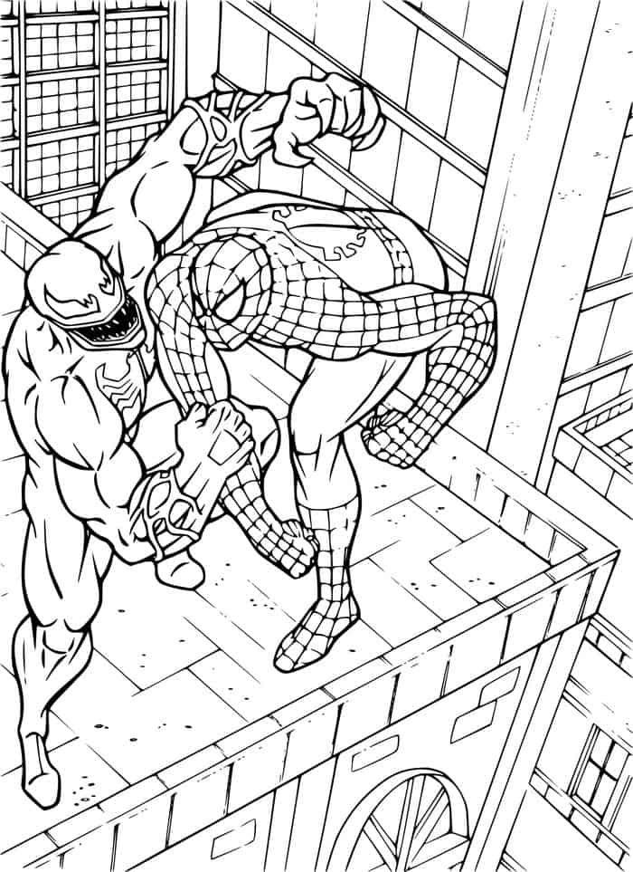 Venom Vs Spiderman Coloring Pages Spiderman Coloring Lego Coloring Pages Marvel Coloring