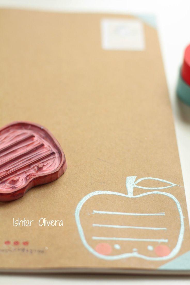 Apple Notebook ♥ Libreta Manzana | Ishtar Olivera