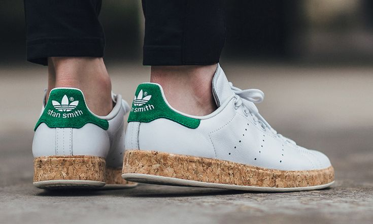 "adidas Stan Smith Luxe ""Cork"" White/Green 