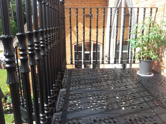 Victorian Balconies - British Spirals & Castings