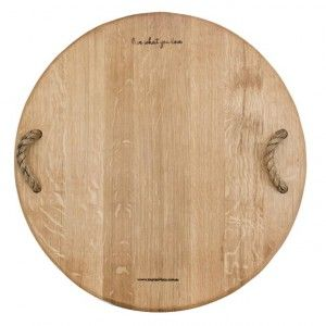 IKHAYA  Cheese Board- Handcrafted from reclaimed wine vats.(60cm diam) Available at sourced4you.com.au PART OF THE IKHAYA RANGE.