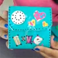Porte-monnaie en tetra pak Activité manuelle et bricolage enfant