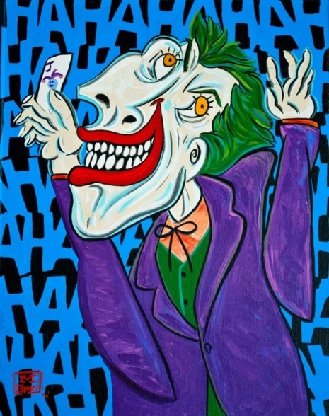 If Picasso Were To Paint Superheroes: Paintings Art, Picasso Paintings, Picasso Superhero, Art Lessons, The Jokers, Art Parodi, Super Heroes, Paintings Superhero, Picasso Style