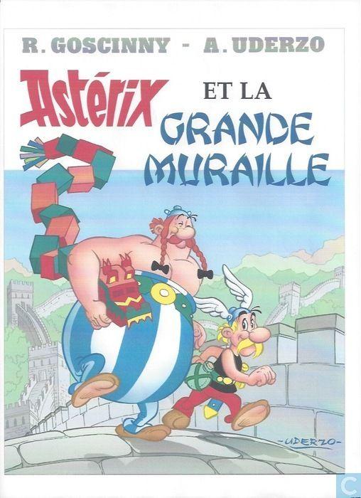 Bandes dessinées - Astérix - Astérix et la Grande Muraille