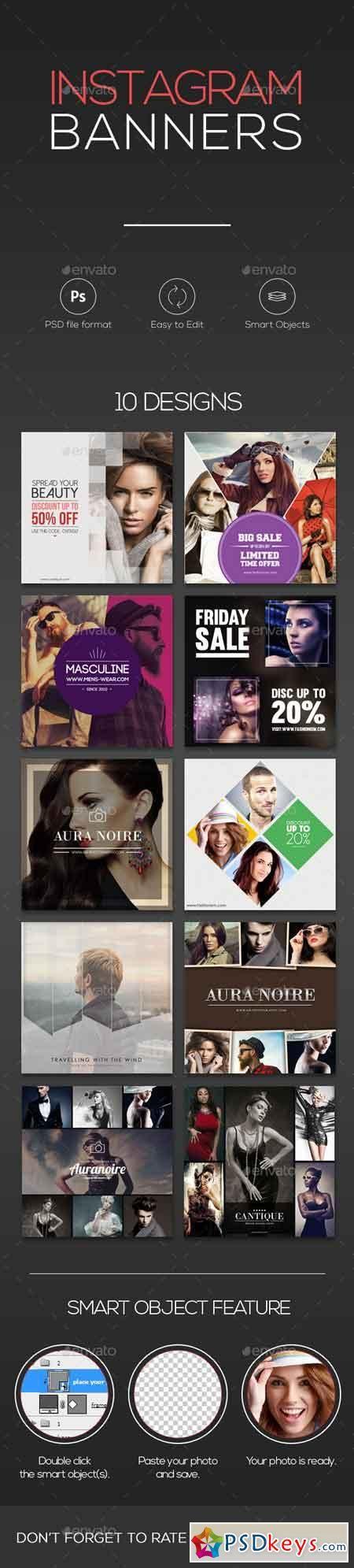 10 Instagram Banners 15737607