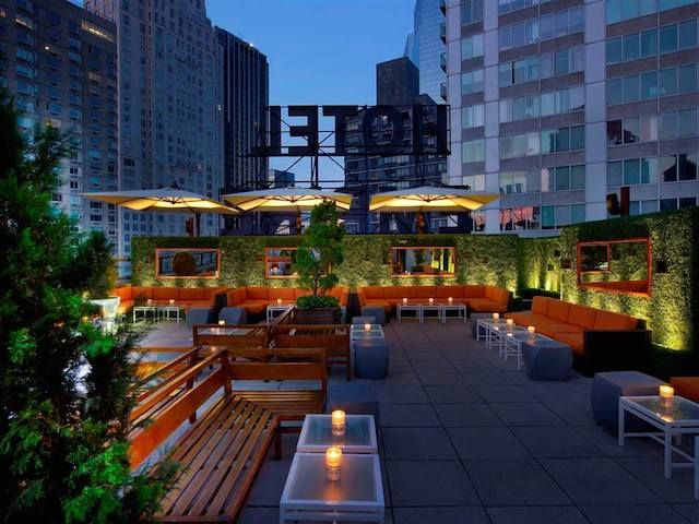 best rooftop bars for brunch in nyc