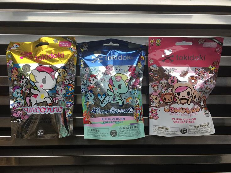 "Find these brand new ""Blind Bag"" Plush clip-ons in-store or online. Tokidoki brings collectible plushes from their popular series Unicorno Mermicorno and Donutella and her sweet friends!  #newarrival #mindzai #tokidoki #unicorno #mermicorno #donutellaandhersweetfriends #donutella #blindbag #plushies #plush #plushie #keychain #clipon #toronto #markham"