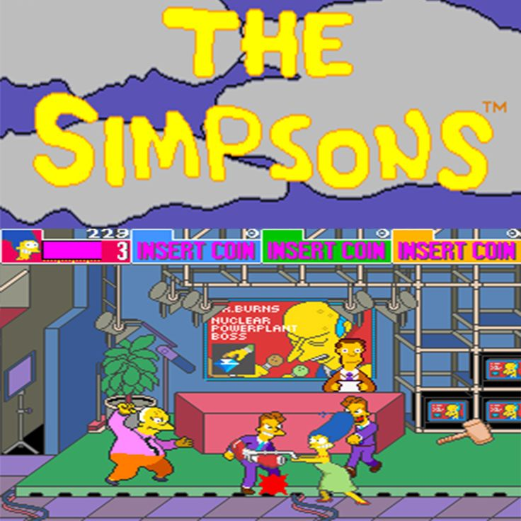The Simpsons - Konami 1991  #1UpArcadeBrisbane #1UA #1uparcade #Simpsons #TheSimpsons #Konami #retroarcade #gaming #simpsonsgame #morningside #brisbane #queensland #australia