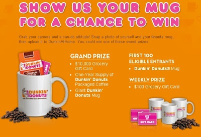 The Crazy Suburban Mom: Dunkin' Dounuts Coffeelicious Mug Up Promotion