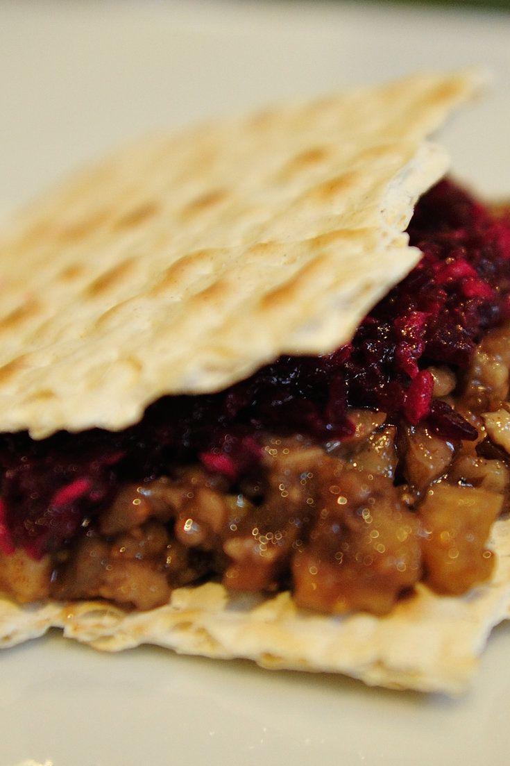 ... Cooking: A recipe for chopped fruits and nuts, with wine and honey